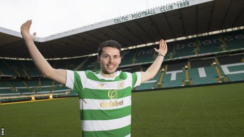St Mirren's Lewis Morgan has signed for Celtic