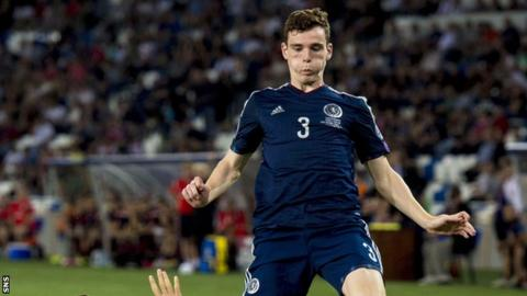 """Andrew Robertson had admitted before the game it had a """"must-win"""" feel about it"""