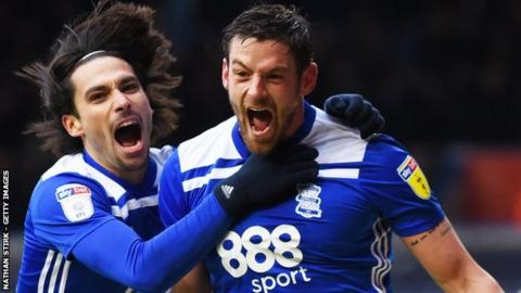 After a run of seven goals in four home games, Lukas Jutkiewicz has not netted in either of Birmingham City's last two matches at St Andrew's