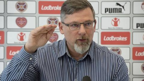 Hearts' director of football Craig Levein