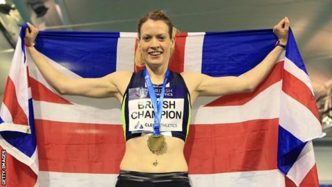 Eilidh Doyle crowned 400m Indoor Champion
