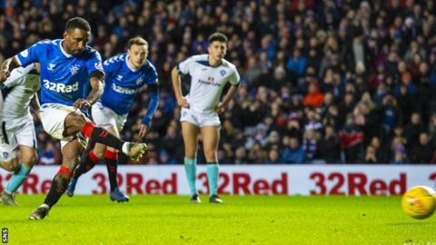 Rangers 2-0 Stranraer: Hosts ease into Scottish Cup last 16