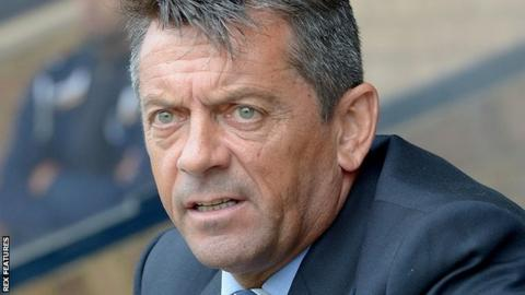 Southend boss Phil Brown