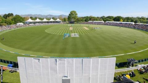 Hagley Oval in Christchurch