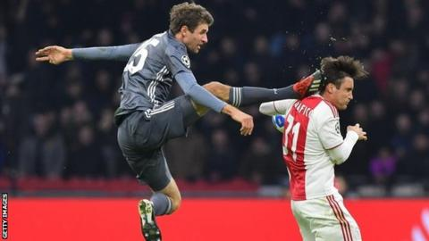 Bayern's Thomas Muller banned vs Liverpool in Champions League