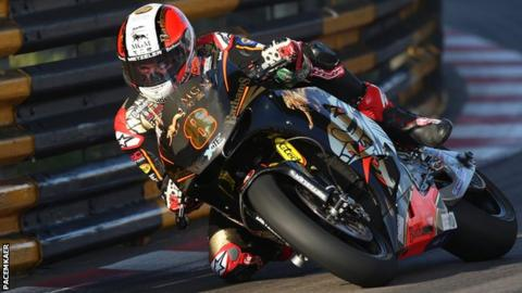 Macau Grand Prix: Michael Rutter awarded win in twice red-flagged race