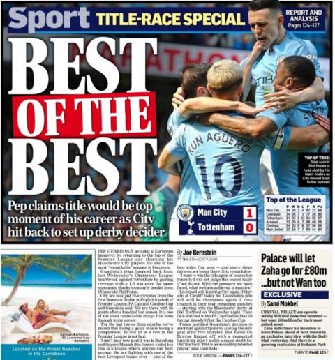 Sunday's Mail On Sunday