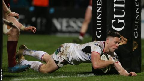 Cooney scored five tries in 24 appearances for Ulster this season