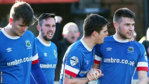 Linfield have beaten champions Crusaders three times this season