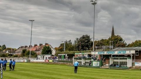 North Ferriby United's Grange Lane ground
