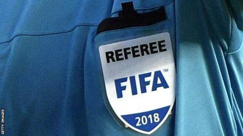 Federation Internationale de Football Association announces referees' list of 2018 World Cup