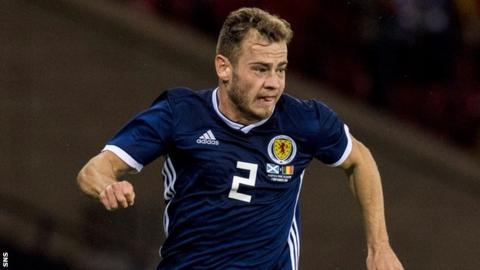 Ryan Fraser in action for Scotland