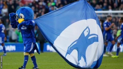Cardiff City mascot