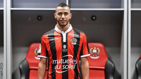 Nice and Morocco's Younes Belhanda