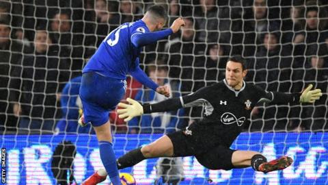 Callum Paterson scores the only goal of the game in Cardiff's victory over Southampton