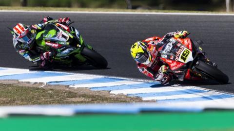 World Superbikes: Bautista wins again as Rea takes controversial third spot