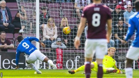 Rangers striker Jermain Defoe