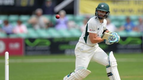 Worcestershire captain Daryl Mitchell