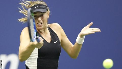 Federer, Djokovic and Sharapova in action at U.S. Open