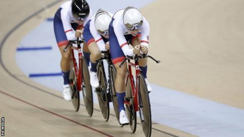 Great Britain women's team pursuit team