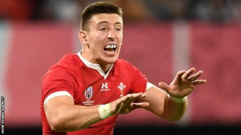 Josh Adams has scored nine tries in 18 Tests since making his Wales debut against Scotland in February 2018