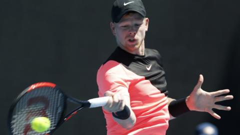 Kyle Edmund of Britain