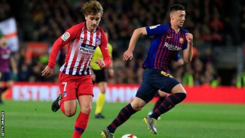 Atletico Madrid forced Griezmann to make farewell video