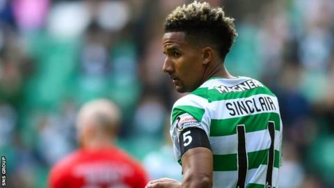 Scott Sinclair has scored 17 goals for Celtic this season