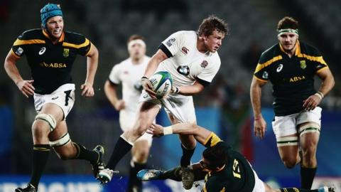 Tom Woolstencroft played for England in the 2014 Junior World Championship in New Zealand