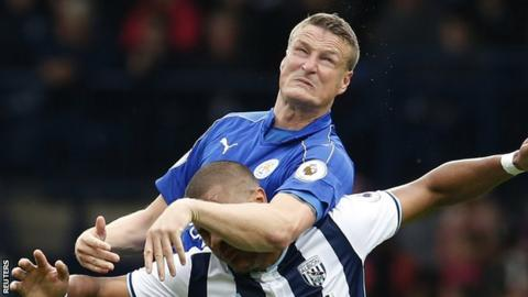 Leicester City defender Robert Huth