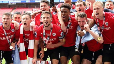 Barnsley win promotion