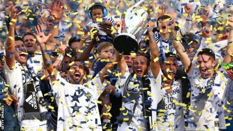 LA Galaxy won the 2014 MLS Cup