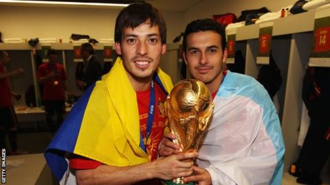 Manchester City's Spain Midfielder David Silva Retires From International Football