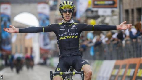 Tirreno-Adriatico: Britain's Adam Yates wins stage five