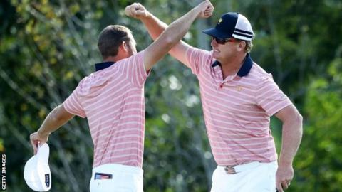 Charley Hoffman and Kevin Chappell