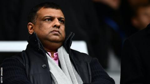 QPR co-chairman Tony Fernandes
