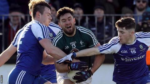 Monaghan and Kildare meet as part of a Croke Park double-header on Sunday