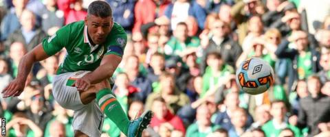 The Republic of Ireland salvaged a draw thanks to Jon Walters' volley