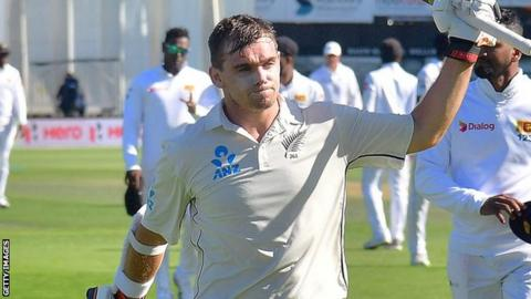 Black Caps in solid position after day one