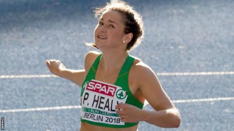 Phil Healy set new Irish 100m and 200m records outdoors last summer