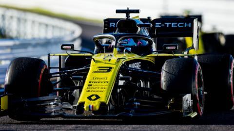 Daniel Ricciardo's Renault at the Japanese Grand Prix