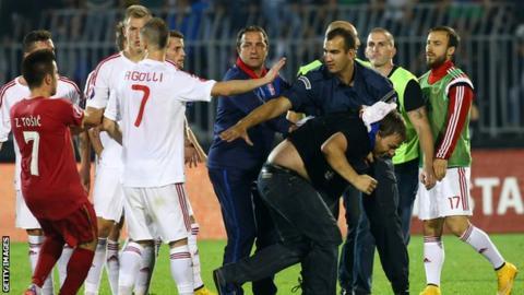 Serbia v Albania