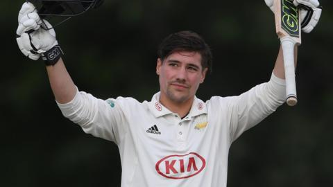 Surrey opener Rory Burns