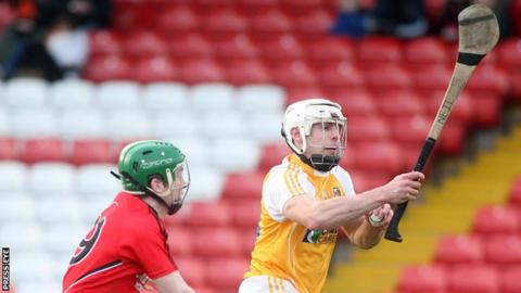 Neil McManus in action against Down in 2014