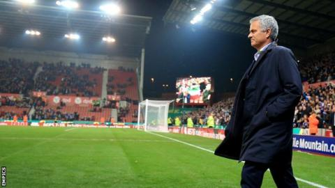 Jose Mourinho visited the Potteries last season at the Britannia Stadium, not long before his departure from Chelsea