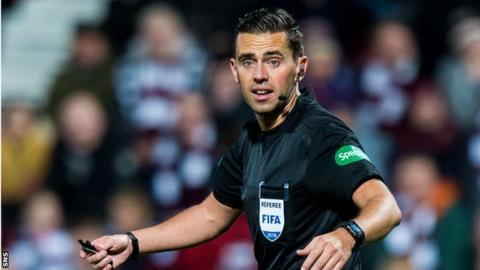 Referee Andrew Dallas