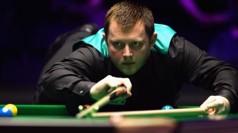 Mark Allen during Masters final