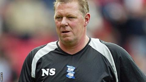 Nigel Spink was Steve Bruce's Birmingham City goalkeeping coach in his six years in charge at St Andrew's from December 2001 to November 2007