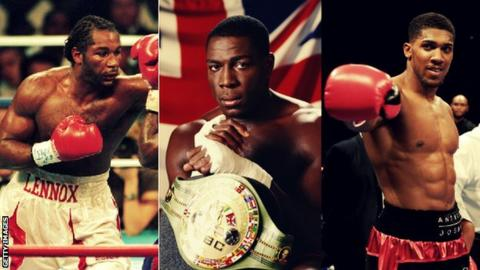 Would you pick Lennox Lewis, Frank Bruno or Anthony Joshua as Great Britain's best heavyweight?