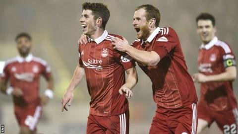 Mark Reynolds and Ryan Christie (left)